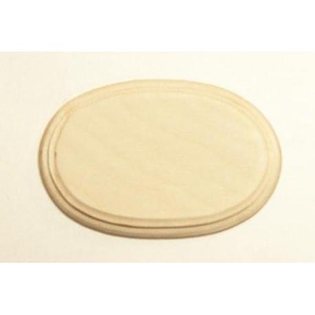 Накладка фигурная 2-01, заготовка для декорирования фанера 8мм, 10.5х7см NZ