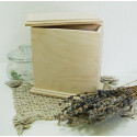 Короб Неаполь узкий, заготовка для декорирования фанера 8мм 16,5х8,5х17см NZ