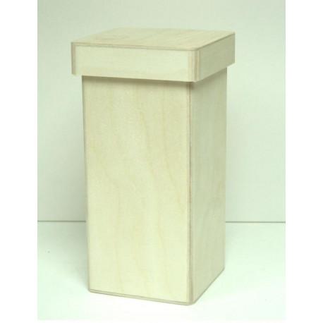 Короб Прованс высокий, заготовка для декорирования фанера 3-9мм 10х10х22см NZ