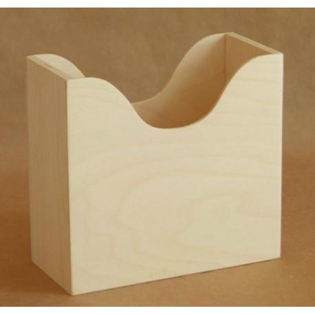 Салфетница Гауди, заготовка для декорирования 18,5х8,5х17см фанера 3-8мм NZ