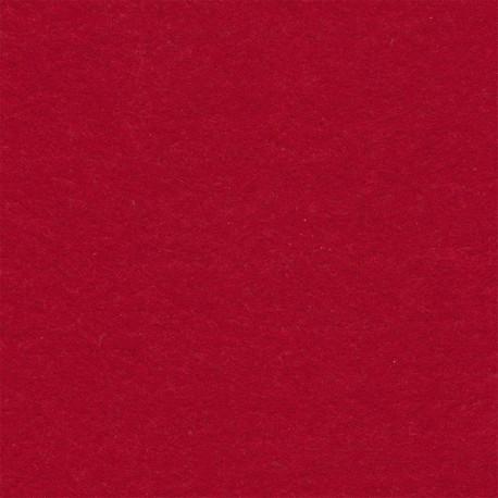 Т.красный, фетр декоративный 100% полиэcтер, толщина 1мм, 30х45см