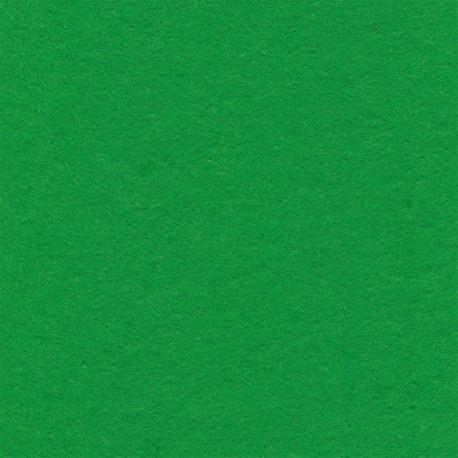 Зеленый, фетр декоративный 100% полиэcтер, толщина 1мм, 30х45см