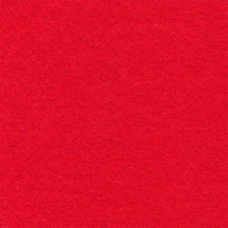 Красный, фетр декоративный 100% полиэcтер, толщина 1мм, 30х45см