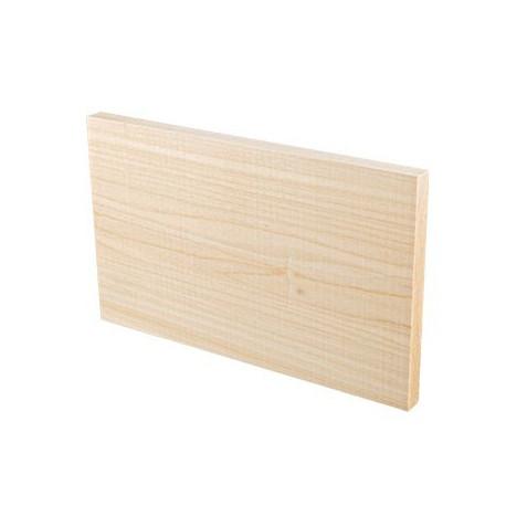 Доска для резьбы, заготовки для декорирования липа 15х25х1,5см, 2шт. Mr.Carving