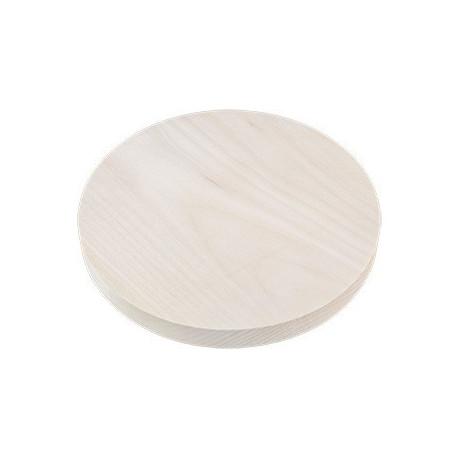 Доска для резьбы круг, заготовки для декорирования липа d20х2см, шт. Mr.Carving