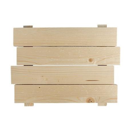 Панно - Щит, заготовка для декорирования сосна 31х24см, Mr.Carving