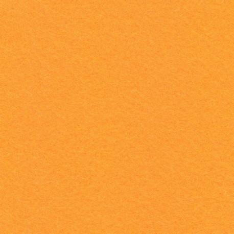 Оранжевый, фетр декоративный 100% полиэcтер, толщина 1мм, 30х45см