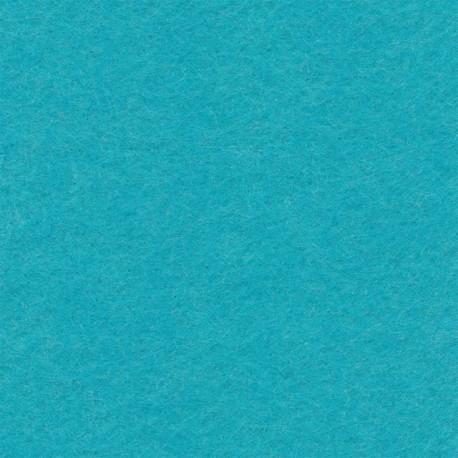 Голубой, фетр декоративный 100% полиэcтер, толщина 1мм, 30х45см