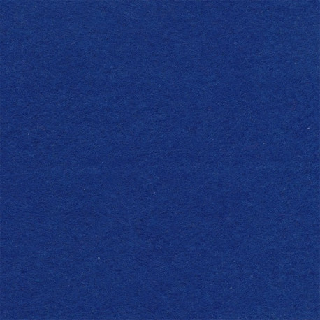 Синий, фетр декоративный 100% полиэcтер, толщина 1мм, 30х45см