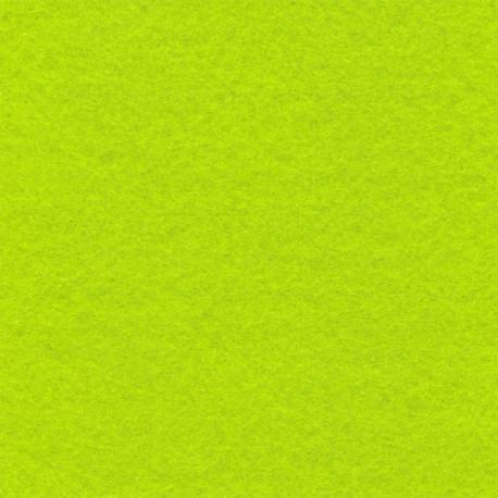 Салатовый, фетр декоративный 100% полиэcтер, толщина 1мм, 30х45см