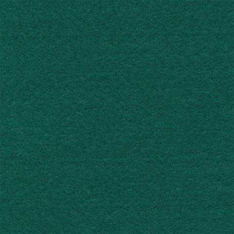 Т.зеленый, фетр декоративный 100% полиэcтер, толщина 1мм, 30х45см