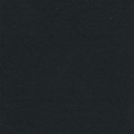 Черный, фетр декоративный 100% полиэcтер, толщина 1мм, 30х45см