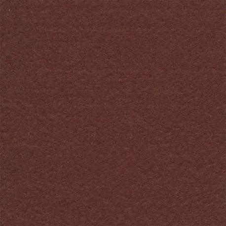 Коричневый, фетр декоративный 100% полиэcтер, толщина 1мм, 30х45см