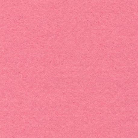 Розовый, фетр декоративный 100% полиэcтер, толщина 1мм, 30х45см