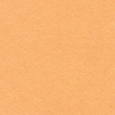 Персиковый, фетр декоративный 100% полиэcтер, толщина 1мм, 30х45см
