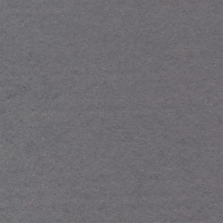 Серый, фетр декоративный 100% полиэcтер, толщина 1мм, 30х45см