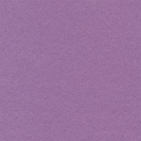 Лиловый, фетр декоративный 100% полиэcтер, толщина 1мм, 30х45см