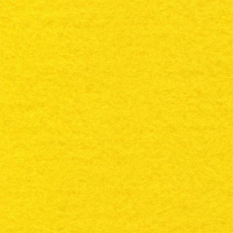 Желтый, фетр декоративный 100% полиэcтер, толщина 1мм, 30х45см
