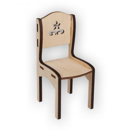 Стул Прованс, заготовка для декорирования фанера 3-6мм 18х9х9см Mr.Carving