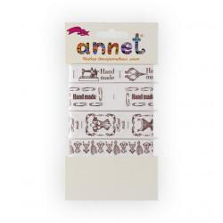 Ручная работа, набор декоративных лент, 5шт по 1м , Annet