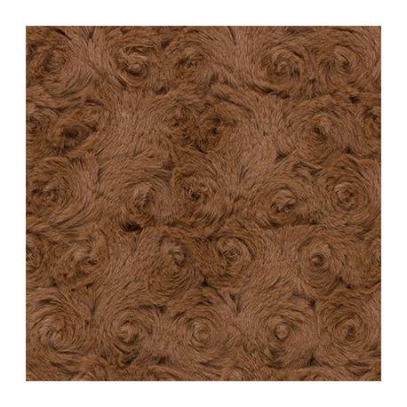 Св.коричневый, ткань плюш 48х48см (±1см) Peppy