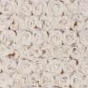 Песочный/кремовый, ткань плюш 48х48см (±1см) Peppy