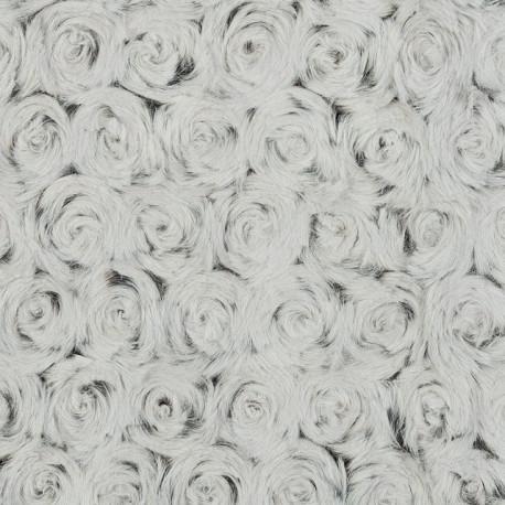 Черный/серый, ткань плюш 48х48см (±1см) Peppy