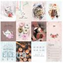 Зефир, набор карточек 7,5х10 см 12шт Fleur Design