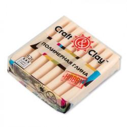 Телесный светлый, полимерная глина, 52гр. Craft&Clay