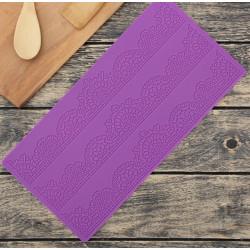 Волшебство 3 полосы, молд силиконовый (коврик для айсинга) 39х19х0,2см SL