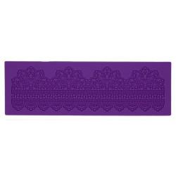 Ажурный пояс, молд силиконовый коврик для айсинга 40х13х0,4см SL