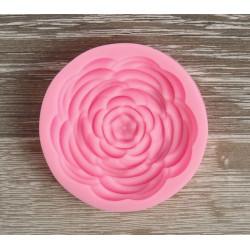 Прекрасная роза, молд силиконовый 5,7х1,2см SL