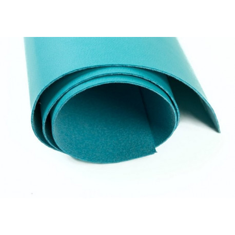 Голубой, кожа искусственная 50х35(±1см) плотность 300 г/кв.м.