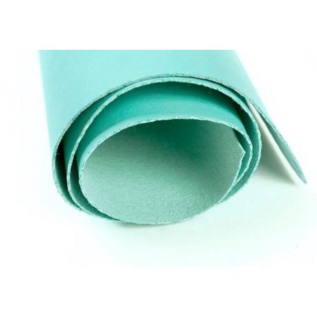 Мятный, кожа искусственная 50х35(±1см) плотность 300 г/кв.м.