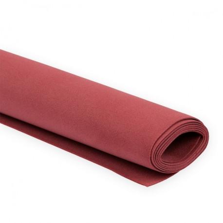 Тёмно-красный, фоамиран 0.8-1мм 60х70(±2см) Иран
