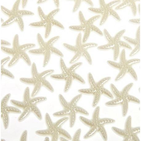 Морские звезды, декоративные полубусины d1,9см 20гр SL