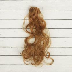 Русый, кудри волосы для кукол 40см на трессе 50см цв.№27В SL