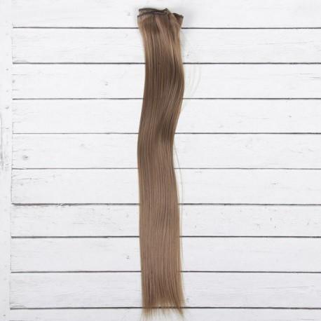 Св.шатен, прямые волосы для кукол 40см на трессе 50см цв.№18Т SL