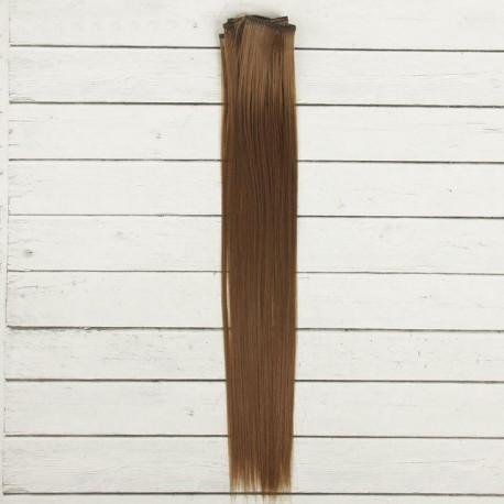 Св.каштан, прямые волосы для кукол 40см на трессе 50см цв.№6 SL