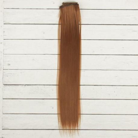 Св.каштан, прямые волосы для кукол 40см на трессе 50см цв.№30А SL