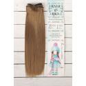 Т.русый, прямые волосы для кукол 25см на трессе 100см цв.№28В SL