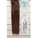 Каштан, прямые волосы для кукол 25см на трессе 100см цв.№8В SL