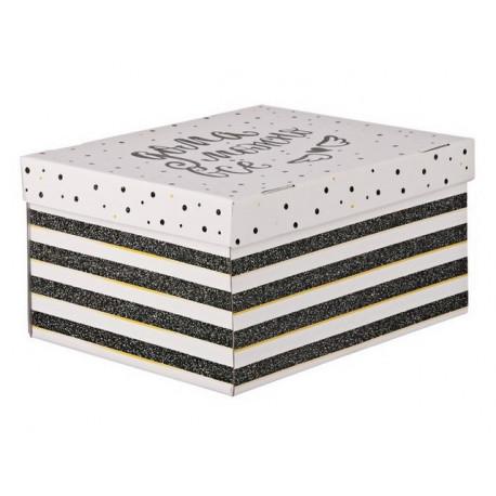 Дома можно все, коробка складная 31х26х16см гофрокартон АртУзор