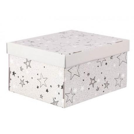 Звездные радости, коробка складная 31х26х16см гофрокартон АртУзор