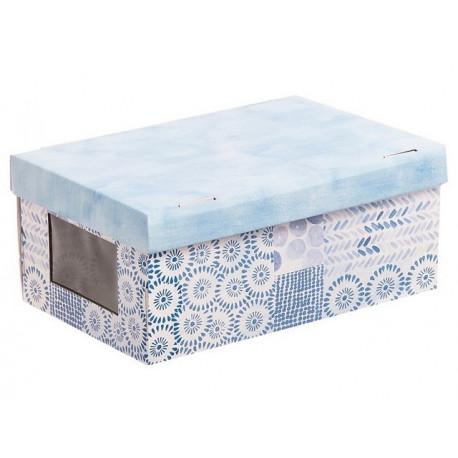 Акварель, коробка складная с окошком 31х26х16см гофрокартон АртУзор