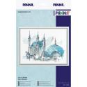 Кул-Шариф, набор для вышивания крестиком 26,5х20см 25цветов Panna