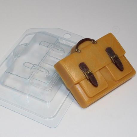 Портфель с 2-мя карманами, пластиковая форма для мыла XD