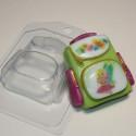 Рюкзак школьный, пластиковая форма для мыла 100г 79х72х28мм XD