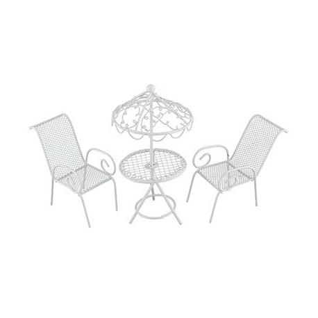 Мебельный гарнитур 3 предмета, заготовка для декорирования металл. Blumentag