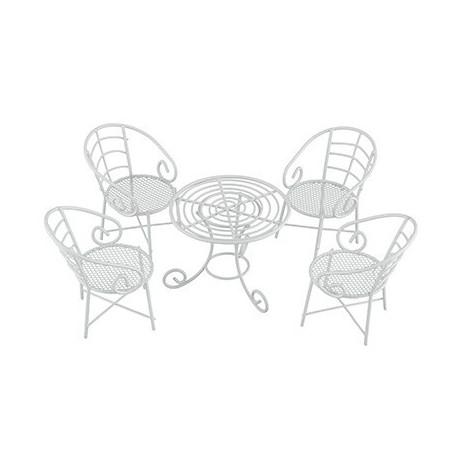 Мебельный гарнитур 5 предметов, заготовка для декорирования металл. Blumentag